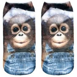 Chaussettes bébé Orang Outan