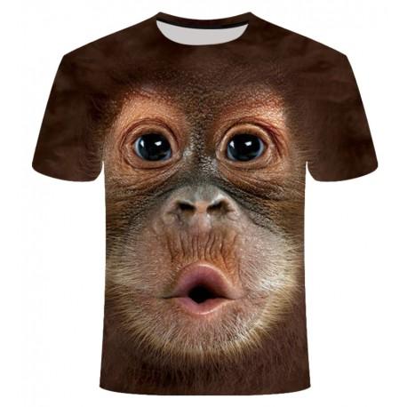 T Shirt Tête de Singe