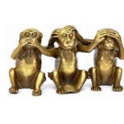 Figurine singe de la sagesse