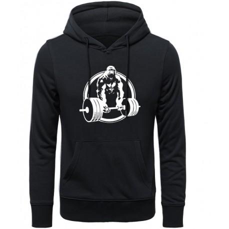 Sweatshirt gorille musculation
